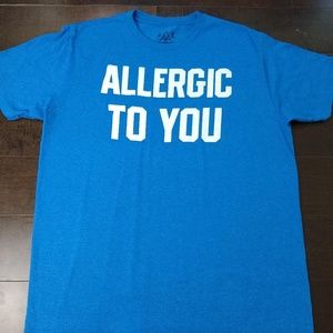 JEM Collective | Allergic to You Blue T-Shirt